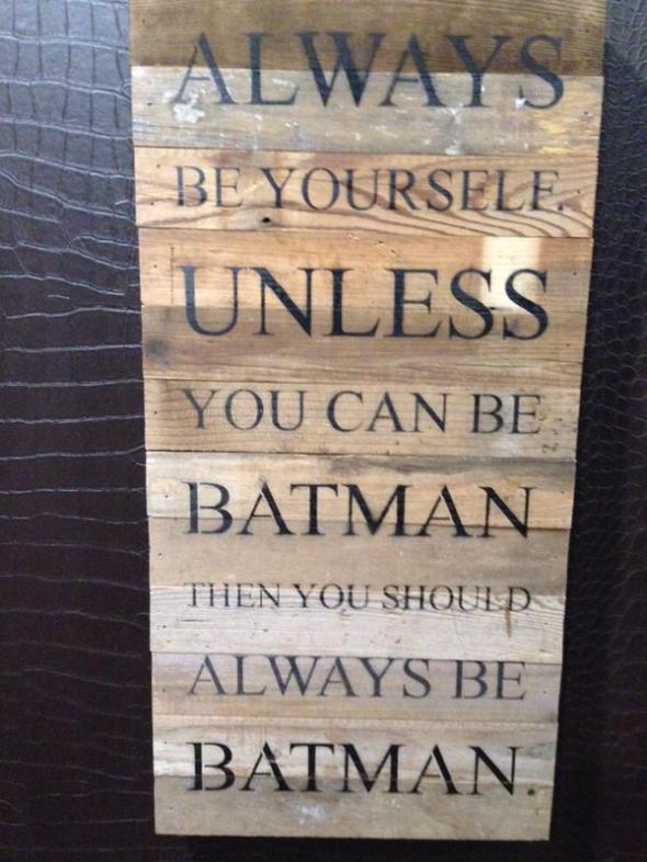 Batman-sign