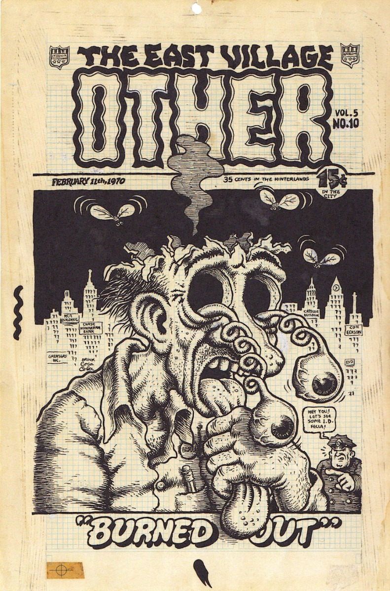 Robert Crumb for The East Village Other, 1970