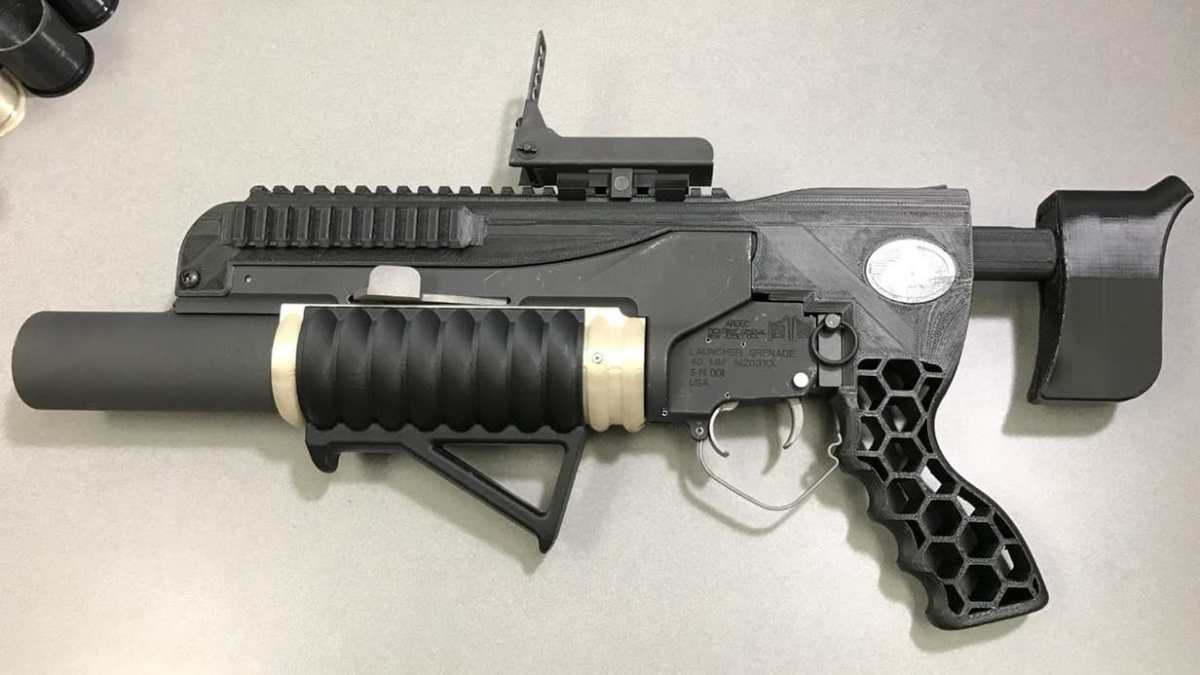US Army Fires 3D-Printed Grenade Launcher