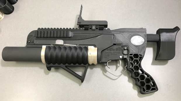 The additive-manufactured RAMBO system includes an NSRDEC-designed standalone kit with printed adjustable buttstock, mounts, grips and other modifications(Credit: US Army/Sunny Burns/ARDEC)