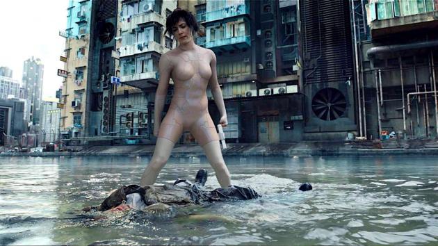 Scarlett Johansson as The Major in
