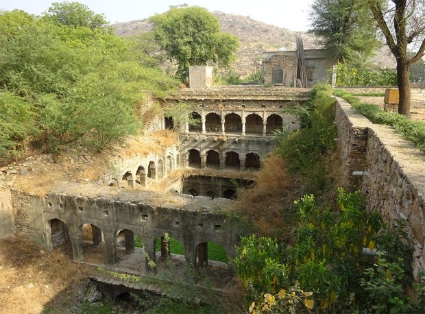 Van Talab Baoli. Amer, Rajasthan. c. 1600/19th Century.