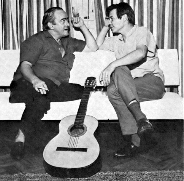 Vinícius de Moraes and Antonio Carlos Jobim.