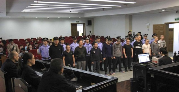 More than 10 people working at the eateries in Wenzhou in Zhejiang province were given sentences ranging from eight months to just over 2½ years. Photo: Handout