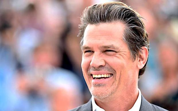 Josh Brolin at the Sicario premiere in Cannes Getty