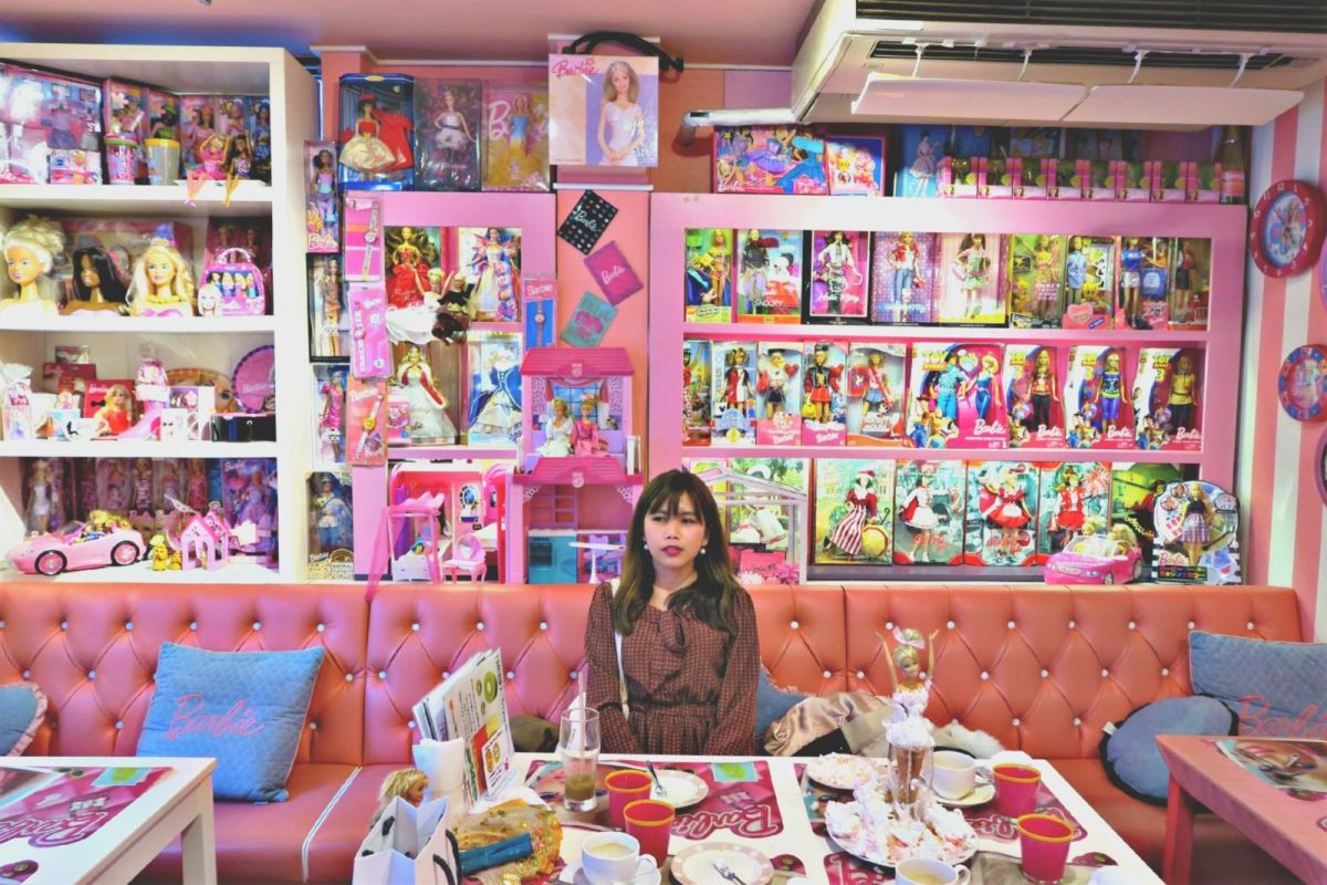 Barbie Cafe, Yokohama Japan