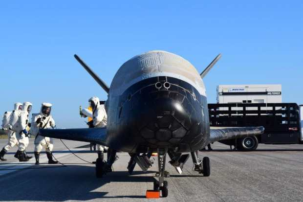 OTV-4 landed at the Kennedy Space Center in Florida after spending 718 days in orbit(Credit: US Air Force)