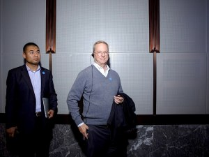 Google chairman Eric Schmidt in Wuzhen. Noah Sheldon for WIRED
