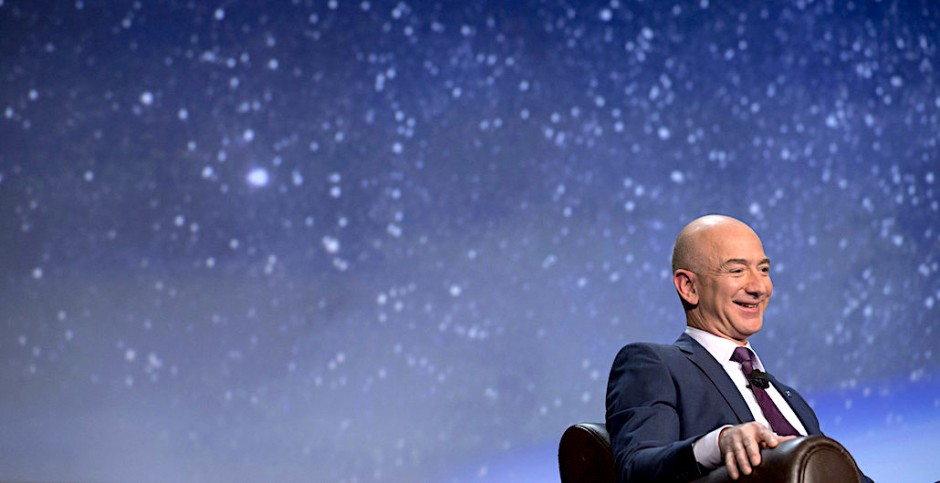 The bid to acquire Whole Foods by Amazon, and its CEO Jeff Bezos, is just the most extreme example of a larger phenomenon. PHOTO: BLOOMBERG
