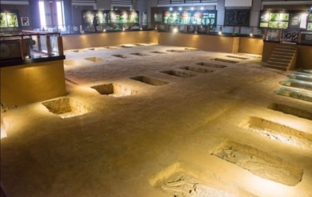 Human sacrifice victims buried at the Shang Dynasty Royal Cemetery were kept as slaves before being killed, archaeologists have found. Credit: beibaoke/Shutterstock
