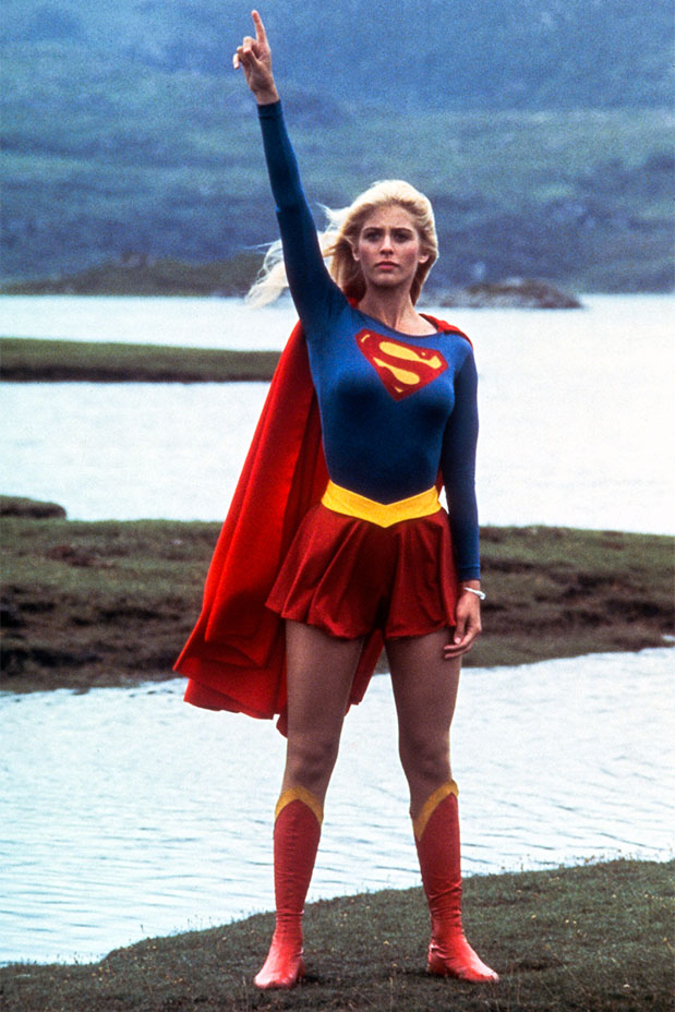 Helen Slater in Supergirl.