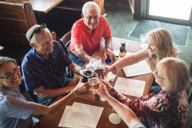 A new study has found that cognitive health later in life correlates with moderate drinking on a regular basis.