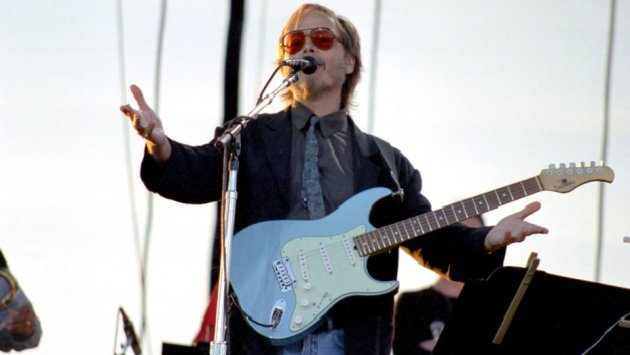 Dana Nalbandian/WireImage Walter Becker of Steely Dan during Steely Dan at the Gorge in George - August 17, 1996 at The Gorge in George, Washington in George, Washington, United States.