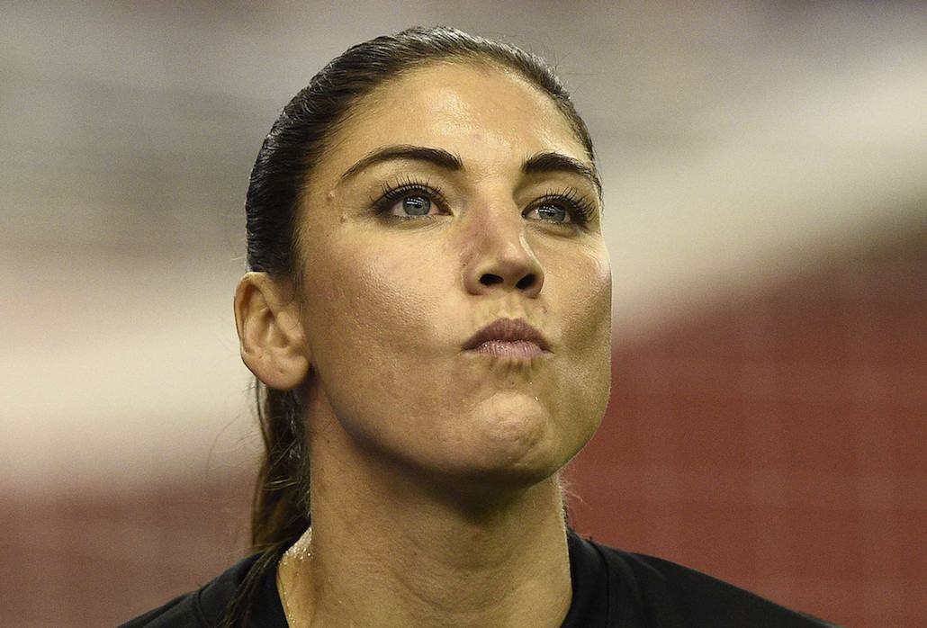 Hope Solo Says FIFA President Sepp Blatter Grabbed Her Ass