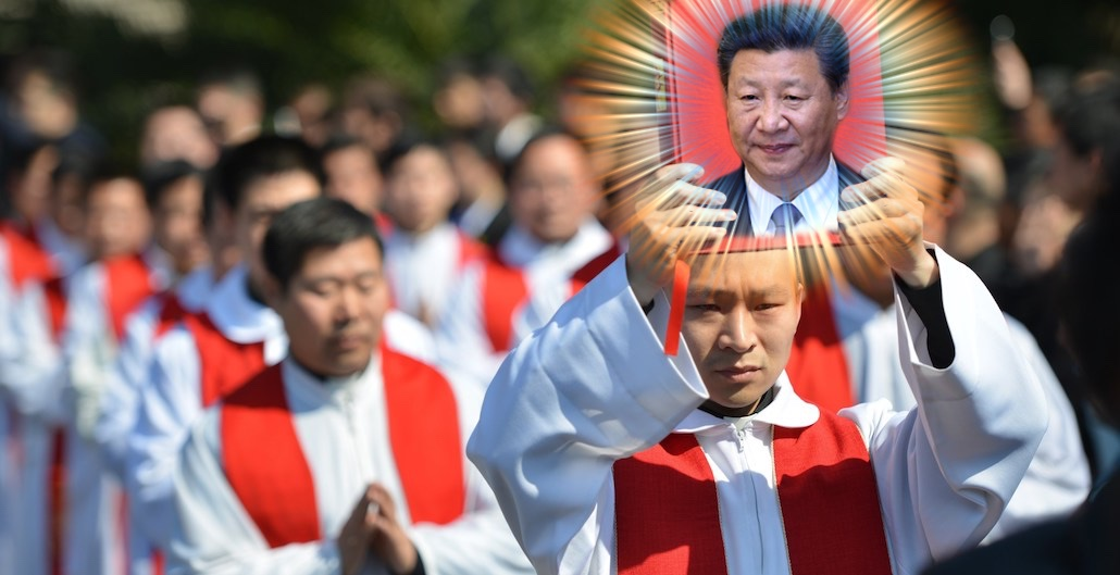 Chinese Officials Pay Poor to Swap Religious Images for Portraits of Xi