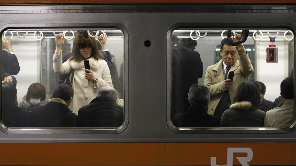 Pregnant Subway Riders in Tokyo Can Request a Seat with their Phones