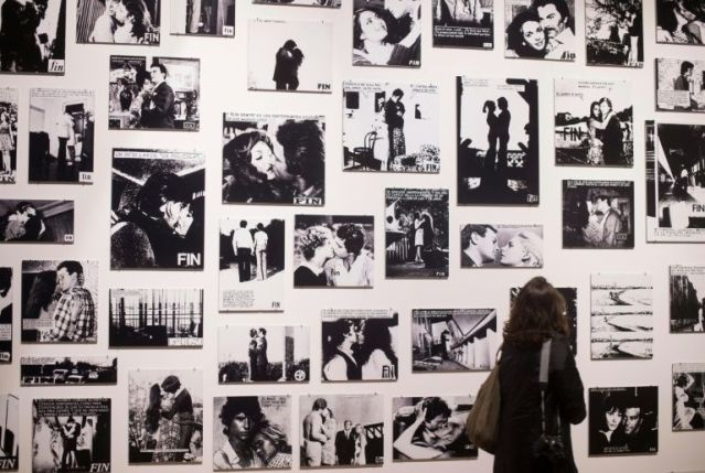 Lingering kisses and frozen horrified looks were the bread and butter of photo comic stories widely popular in postwar Europe and now on display at an exhibition 'Roman-Photo (Photo-Novel)' at the Mucem museum in Marseille