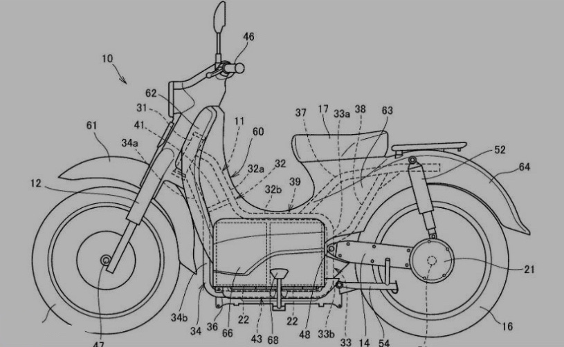 Honda EV Cub To Have Swappable Batteries