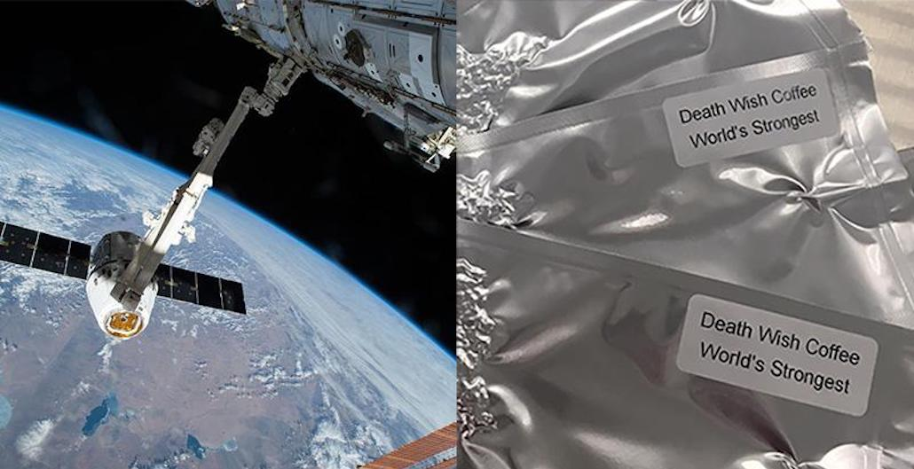 Death Wish Coffee Launches into Space