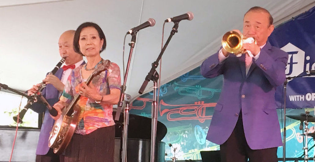 'Japanese Satchmo' Yoshio Toyama Honored in Birthplace of Jazz