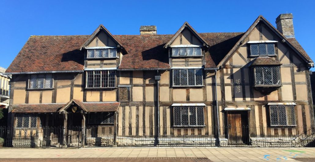 Shakespeare's Homes to be Recreated in … China?