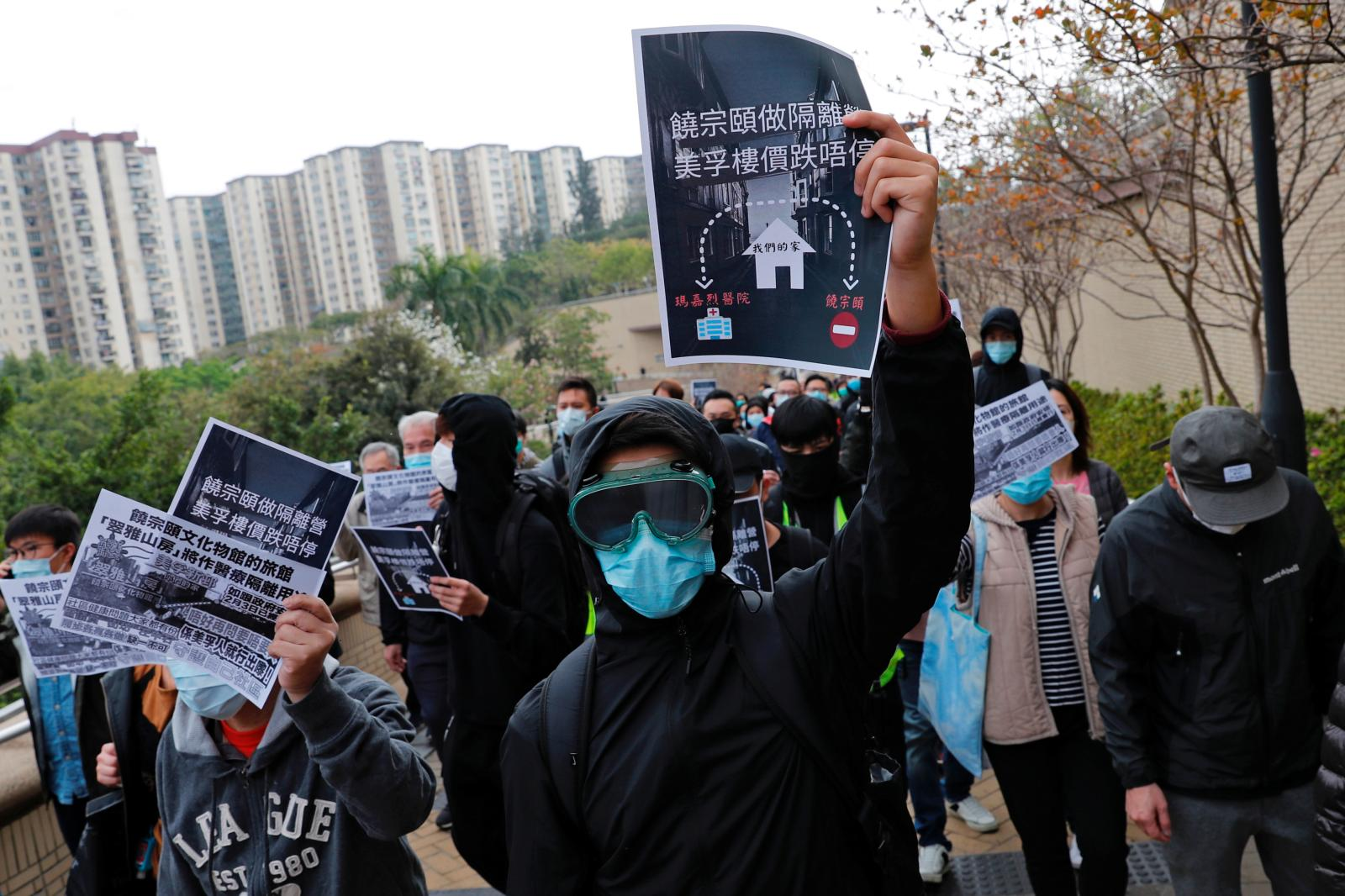 China Coronavirus is at Center of Hong Kong Protests